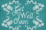 blue get well soon card